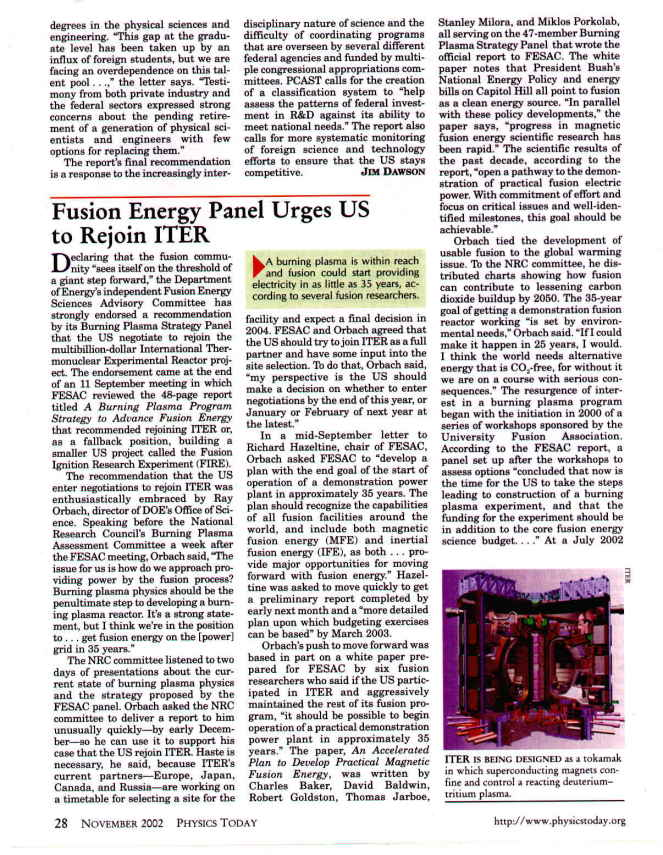Focus Fusion: Lawrenceville Plasma Physics, Inc.