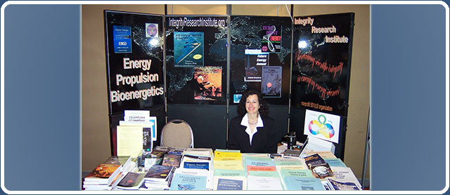 Integrity Research Booth
