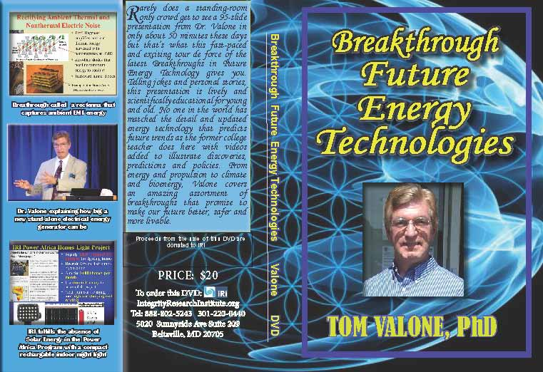 Breakthrough Future Energy DVD